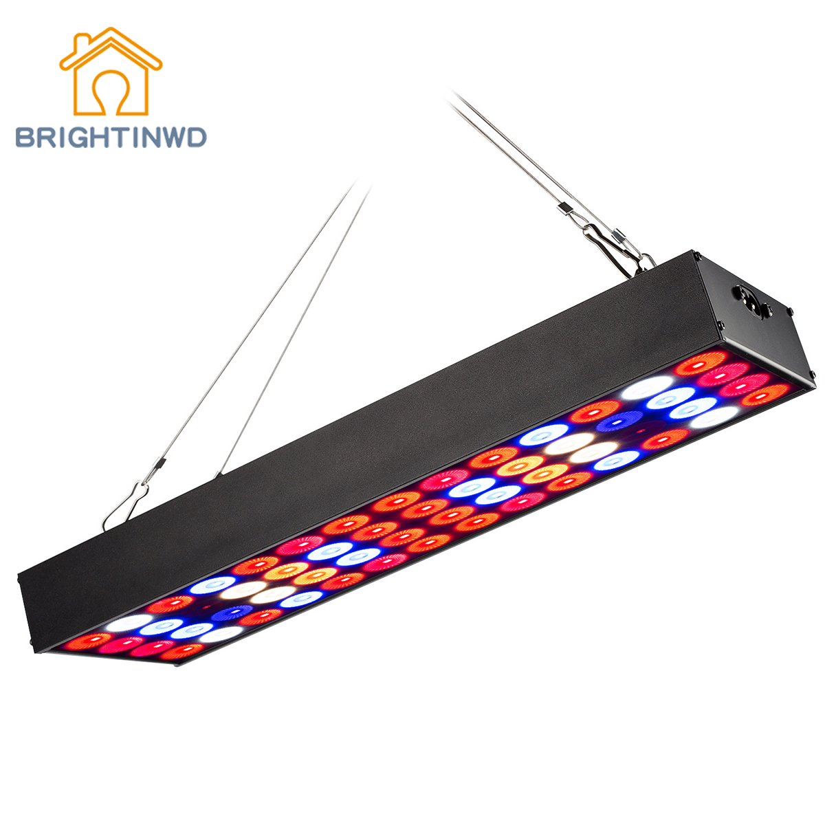 BRIGHTINWD New 18W Strip Plant Growth Lamp Fill Light Nursery Lamp LED Grow Light ...