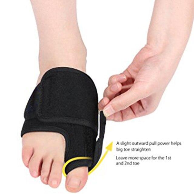 Corrección del Corrector de Bunion suave Aptoco con barra de aluminio Hallux Valgus herramienta de pedicura para el cuidado de los pies