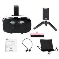 الواقع الافتراضي 3d كاميرا الفيديو و و vr سماعة كيت لتوفير أفضل الذكريات من حياتك في الظاهري واقع