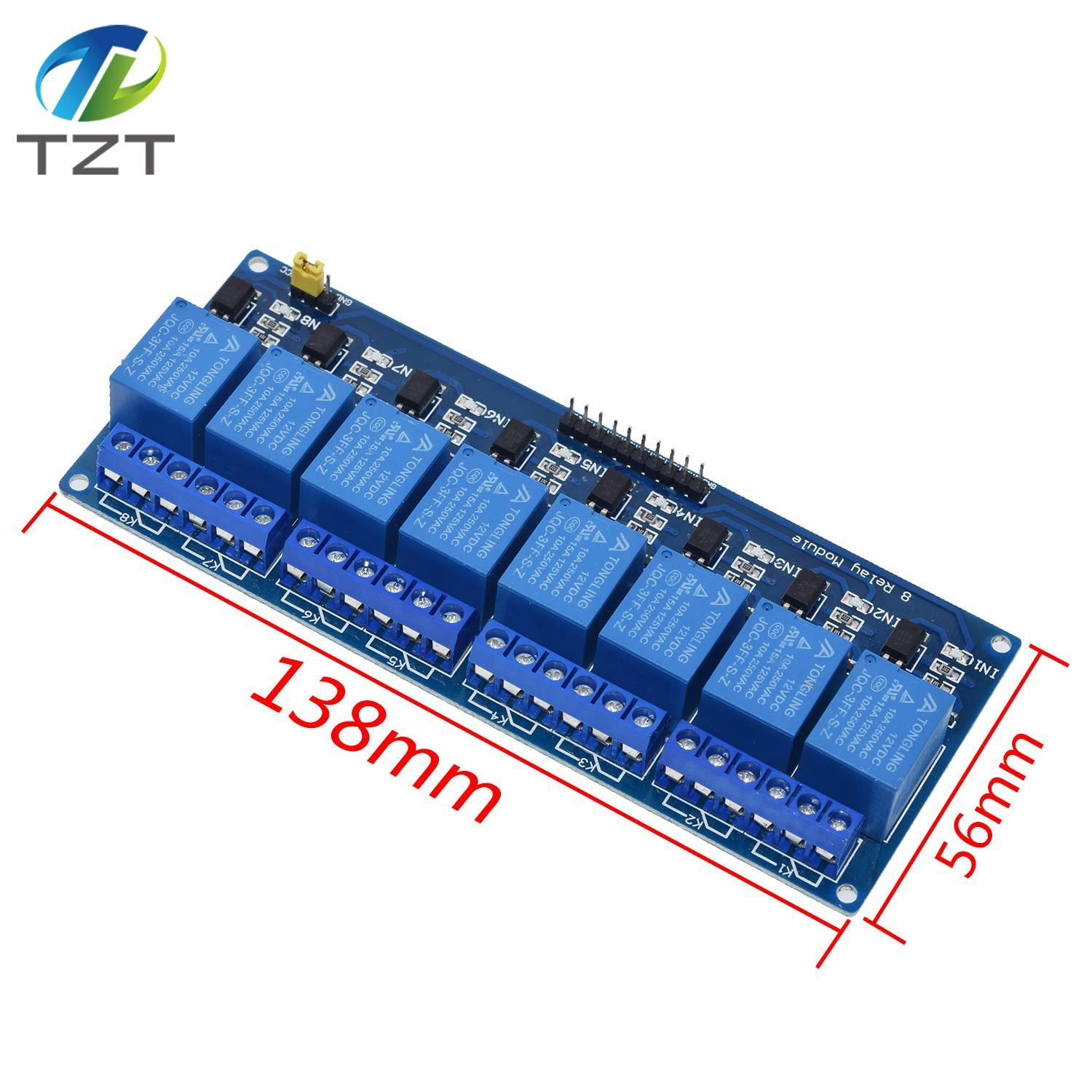 12V 1-2-4-8-16 Channel Relay Module Optocoupler For  PIC AVR DSP  .#