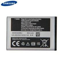 Original Samsung Battery AB463446BU For C3300K X208 B189 B309 F299 AB553446BC GT-C3520 C3520 X160 E339 GT-E2330 800mAh