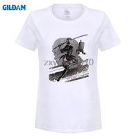 GILDAN Game NieR Automata The Weight Of The World Women T Shirts Digital Printing 100 180g