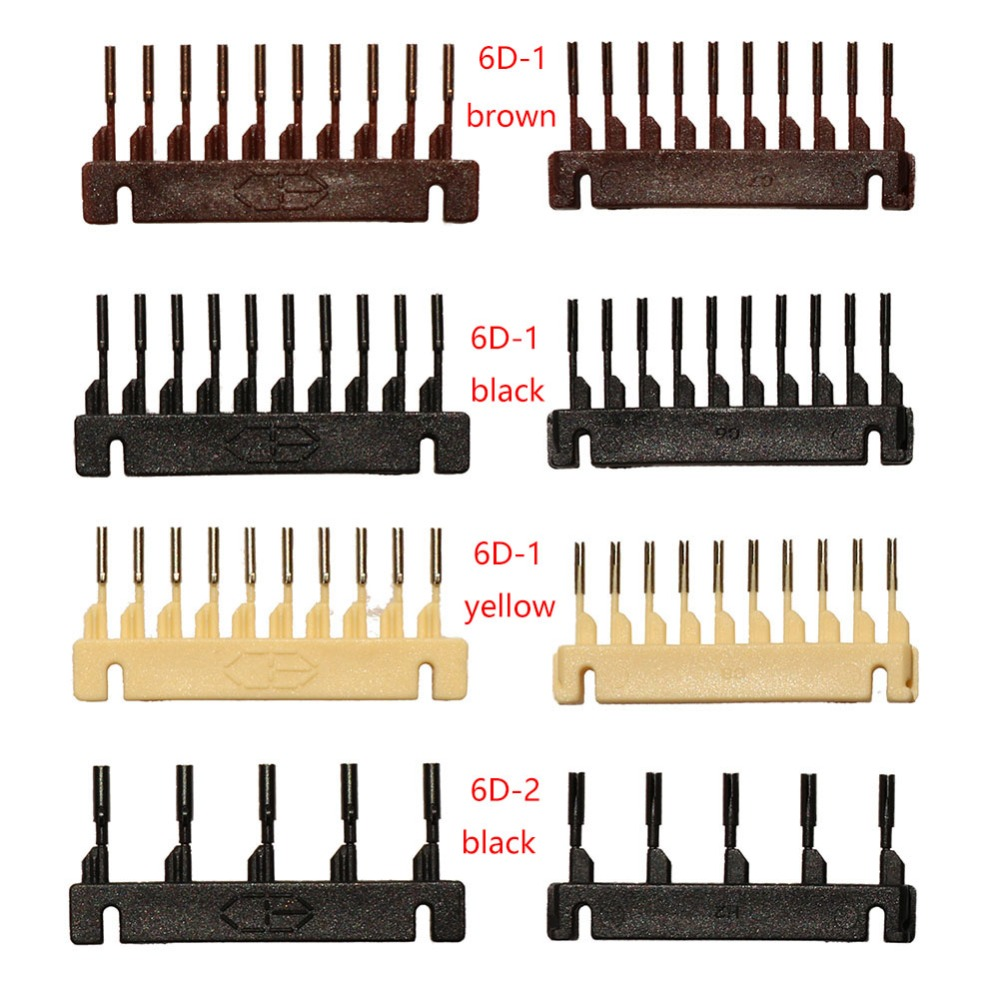6D Hair Buckle for 6D Hairextension machine 40pcs lots Remy Hair Wig Connector tools free shipping in Connectors from Hair Extensions Wigs