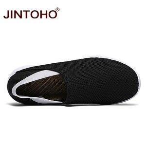 Image 5 - JINTOHO Unisex loaferlar yaz ayakkabı moda erkekler gündelik ayakkabı ayakkabı ucuz nefes erkek spor ayakkabı rahat erkek ayakkabı erkekler Shose
