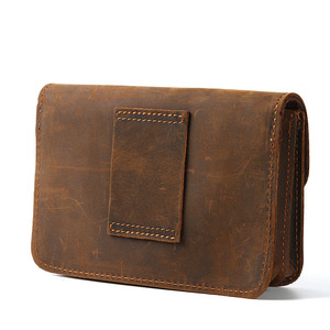 Image 3 - Männer Dokument Tasche Mini Echtem Leder Rindsleder Kleine Beutel Dokument Datei Halter Für Business Travel Tragbare Werkzeug