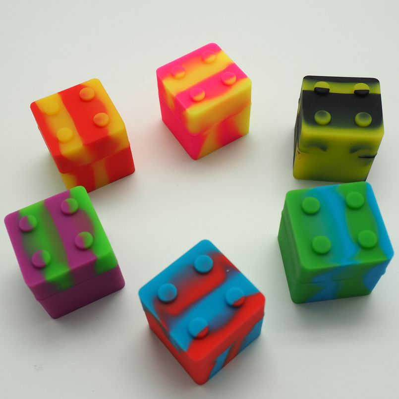 silicone small square container (1)