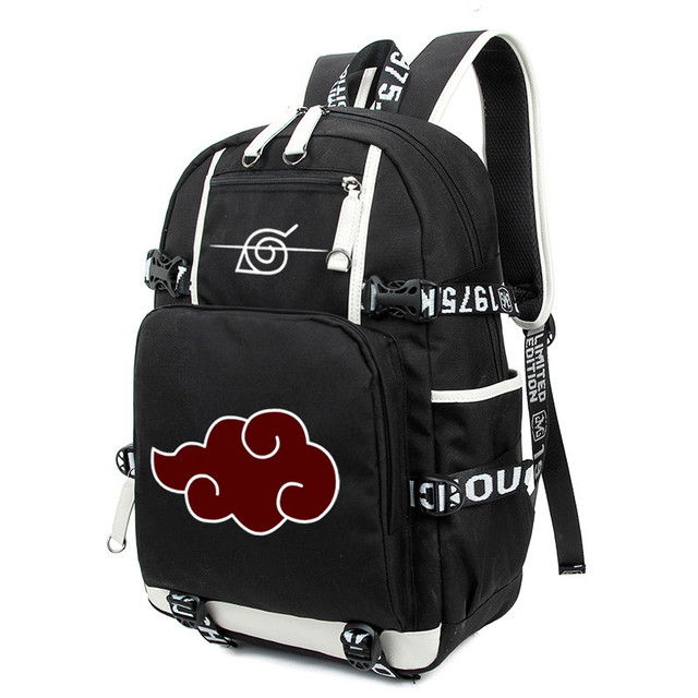 Arrival Cartoon Naruto Anime Printing Laptop School Bag