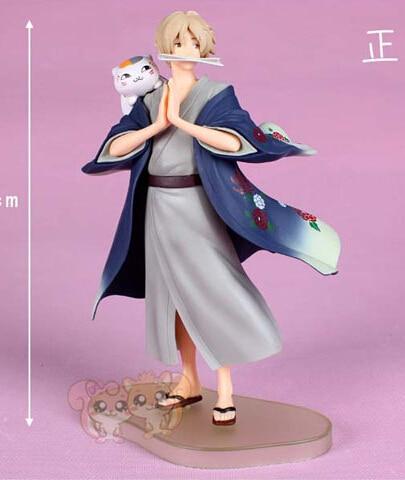 20CM Anime Natsume's Book of Friends Natsume Yuujinchou Takashi Natsume ichiban kuji figure PVC JP021 action figure natsume takashi natsume s book of friends backpack hand animation pvc 18cm collectible model gift dolls anime