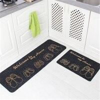 40X60cm+40X120cm Soft Dust proof Home Door Mat For Living Room Bedroom Kitchen Mats Area Rugs Home Floor Simple Mat Bathroom Rug