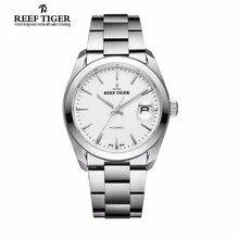 Риф Тигр мужская одежда часы Нержавеющаясталь сапфировое стекло вечный календарь Watch Automatic Водонепроницаемый часы RGA835