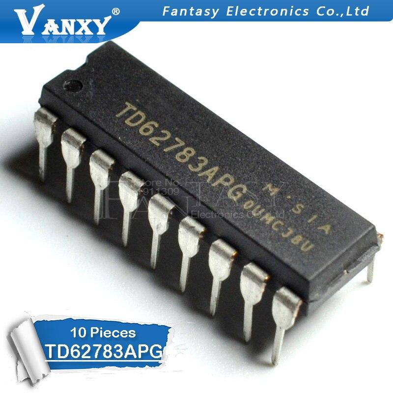 10PCS TD62783APG DIP18 TD62783 DIP TD62783AP DIP-18 New And Original IC