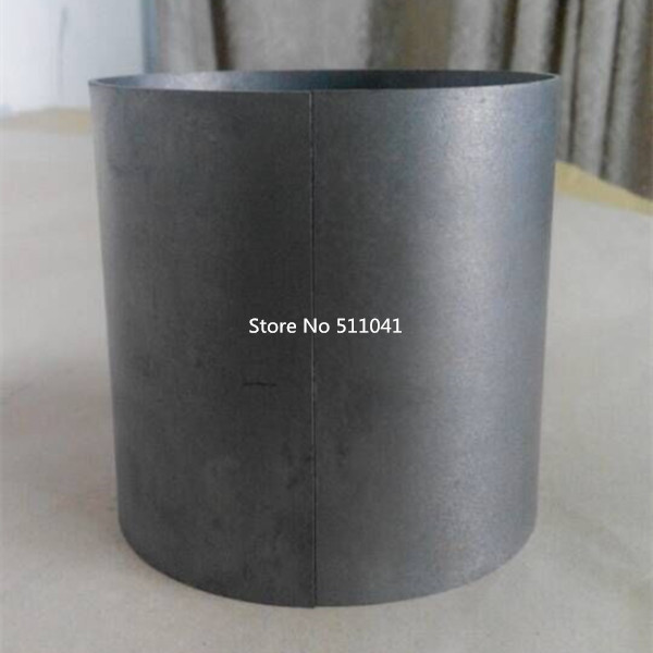 HOT SALE  high purity welding Tungsten crucible 90*2mm*130 mm  Paypal is available купить