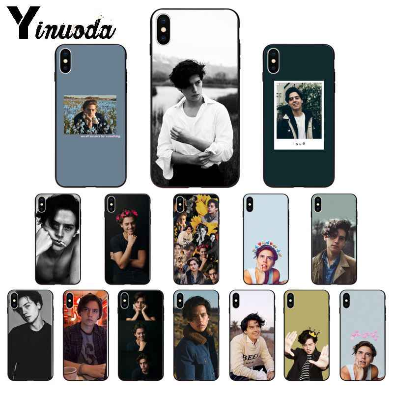 Yinuoda American TV Riverdale Series Cole Sprouse TPU Silicone Soft Phone Case for iPhone X XS MAX 6 6S 7 7plus 8 8Plus 5 5S XR