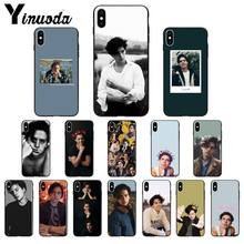 Yinuoda American TV Riverdale Series Cole Sprouse TPU Silicone Soft Phone Case for iPhone X XS MAX 6 6S 7 7plus 8 8Plus 5 5S XR(China)
