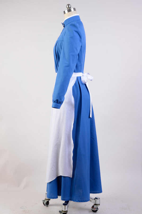 Castello errante di Howl Costume Cosplay Sophie Full Set Uniform Cosplay Dress