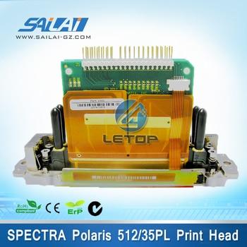 100% Original! Brand Spectra Polaris 512 printhead 35pl for Flora Solvent Inkjet Printer(Polaris 512 35PL) wholesale and retail