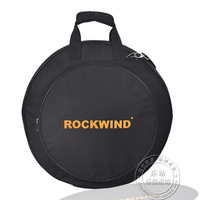 Professional Portable Shoulders Backpack 4pcs Loaded Black 20 Deluxe Cymbal Bag Carrying Case Drums Cymbals Instrument