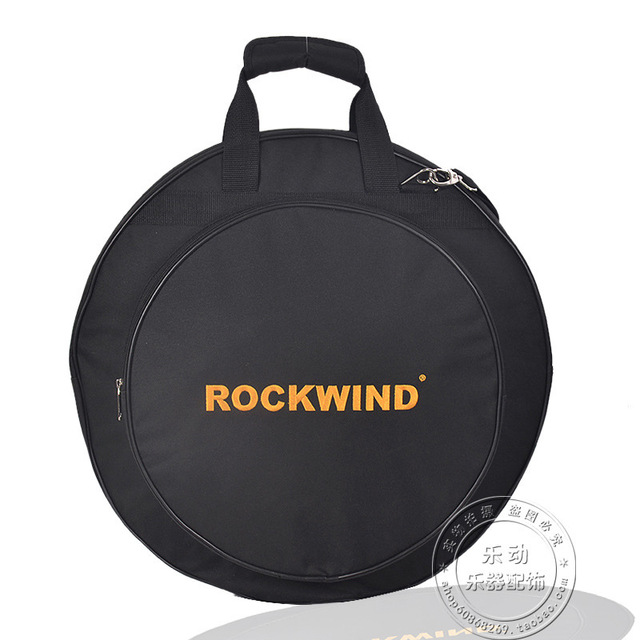 "Professional  Portable shoulders backpack 4pcs loaded black 20"" Deluxe Cymbal Bag Carrying Case Drums Cymbals Instrument Gig"