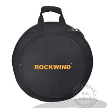 Professional  Portable shoulders backpack 4pcs loaded black 20″ Deluxe Cymbal Bag Carrying Case Drums Cymbals Instrument Gig