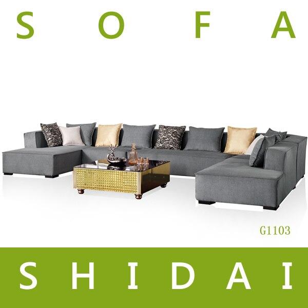Woonkamer U Vorm : Moderne sofa u vorm hoekbank te stellen ontwerpen ...