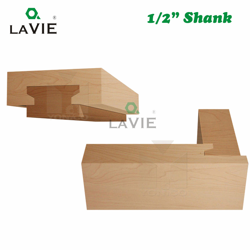 Image 4 - LAVIE 12mm 1/2 Straight Drawer Molding Router Bit Drawer Lock Tenon Knife Plug Wood Milling Cutter Door Woodworking Tool MC03005-in Milling Cutter from Tools