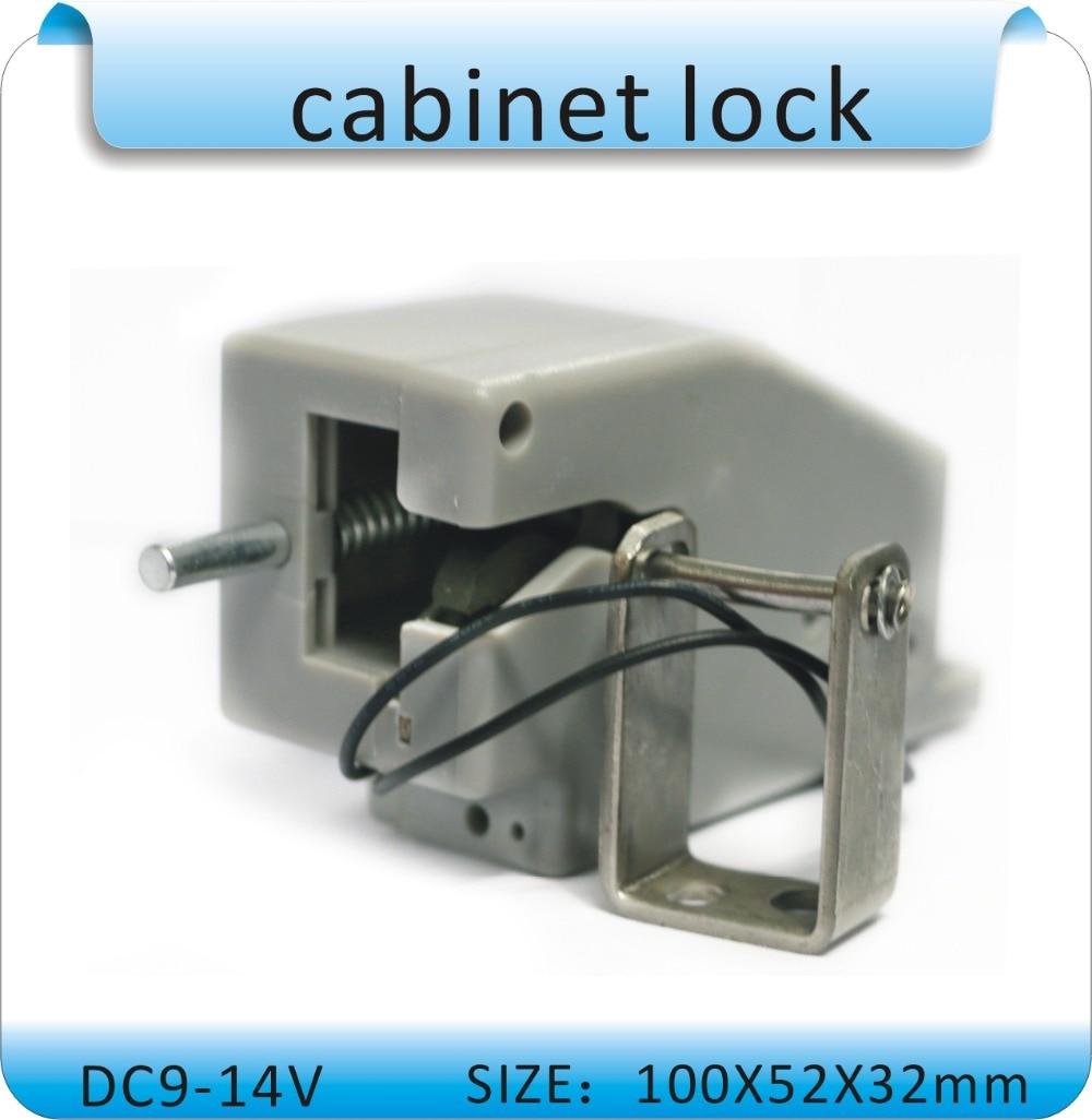 Free shipping, high quality DC-12V wardrobe locks, electronic cabinet locks dc 12v open frame type electronic door lock 12v 2a for cabinet locks solenoid locks drawer