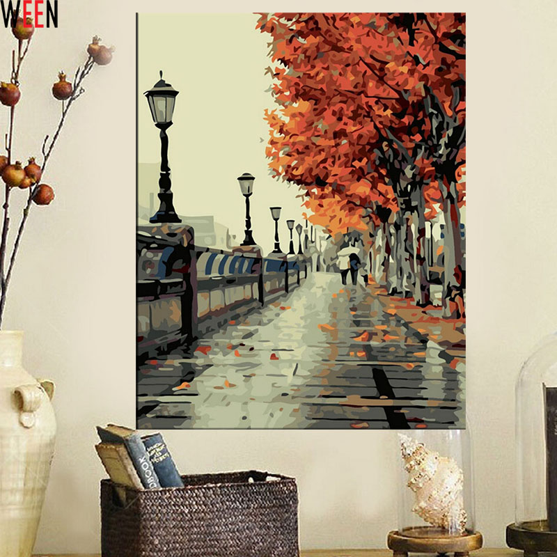 Buy diy wall decor paint by numbers for Decoracion hogar aliexpress