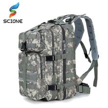 2017 Hot Top quality Men Women Military Army Backpack Trekking Camouflage Rucksacks Tactical Bag Pack Schoolbag Waterproof ACU