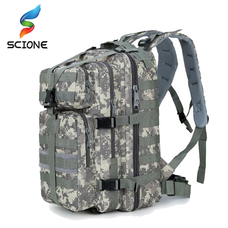 Hot <font><b>35L</b></font> Waterproof Military Tactical Assault Pack <font><b>Backpack</b></font> Army Molle Bag Small Rucksack For Outdoor Hiking Camping Hunting image