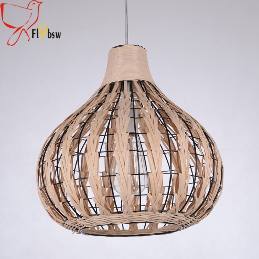Southeast asia style rattan art hanging lamp3533cm coffee color southeast asia style rattan art hanging lamp3533cm coffee color hand woven pendant light lighting fixture for restaurant hotel in pendant lights from aloadofball Gallery
