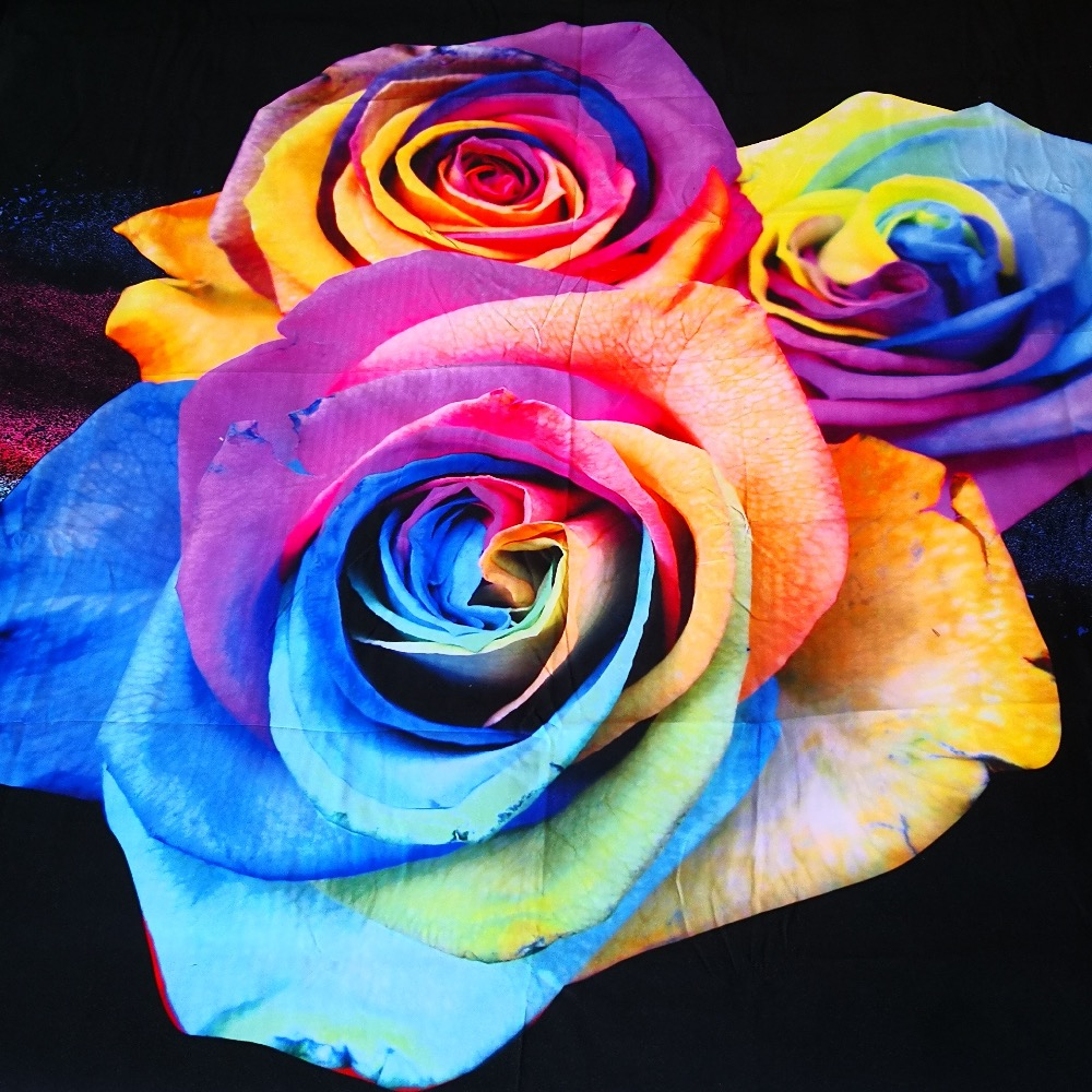 Detail Feedback Questions About 3 Pcs Per Set Rainbow Rose Explosion