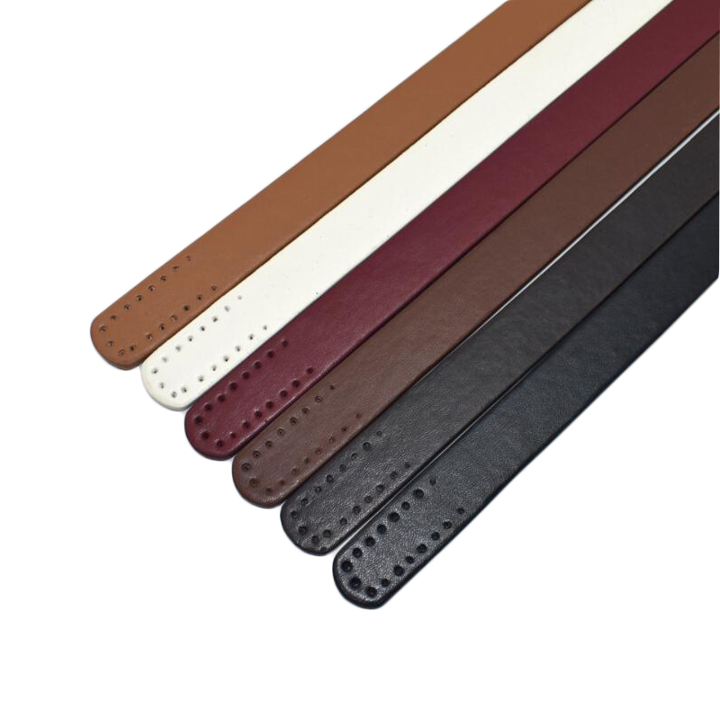 2PCS Handles Leather Fashion Handbag Purse Belts DIY Handle Accessories Bags Handmade Part Replacement Shoulder Bag Straps