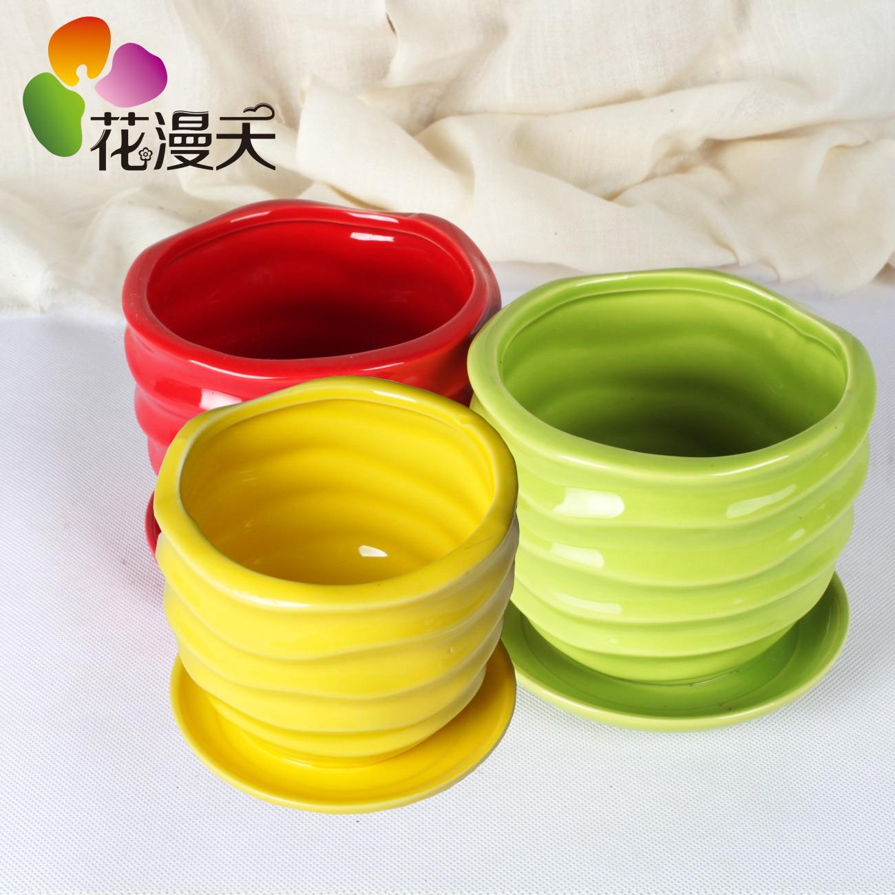 Ceramic Indoor Plant Pots - Cbaarch.com