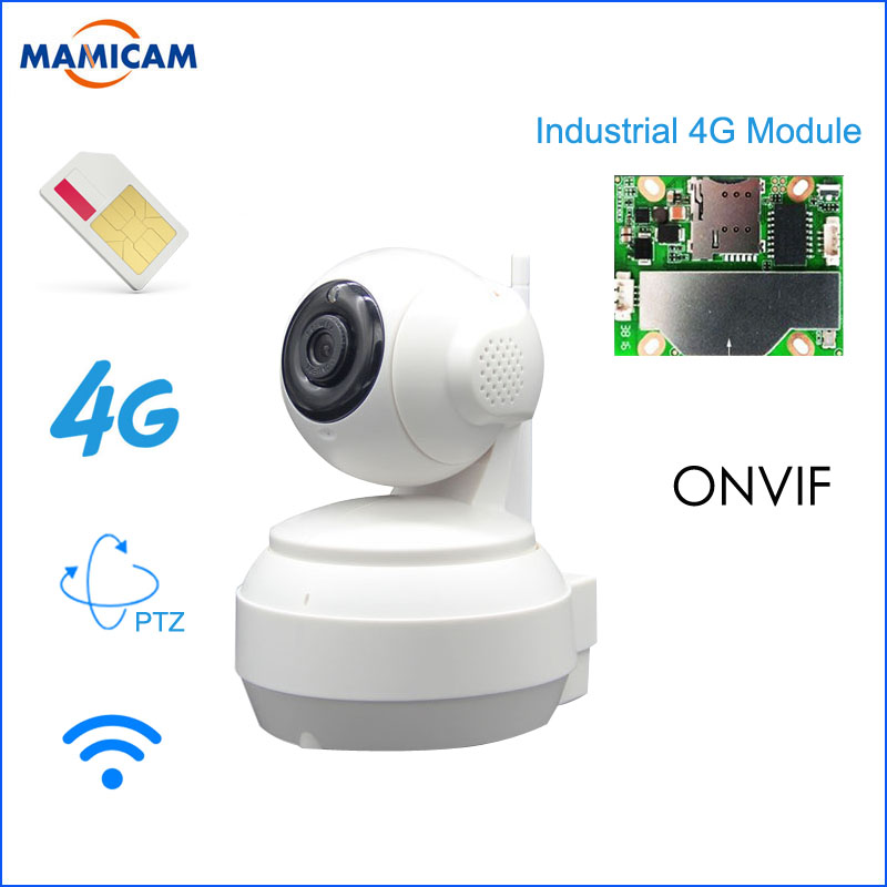 3G 4G SIM Card Mobile IP Camera HD 960P Video Transmission Via 4G FDD LTE Netowrk Worldwide Free APP For Remote Control WIFI Cam