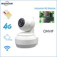 3G 4G SIM Card Mobile IP Camera HD 960P Video Transmission Via 4G FDD LTE Netowrk Worldwide Free APP For Remote Control WIFI Cam