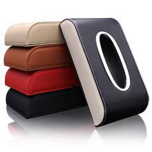 Универсальная кожаная автомобильная коробка для салфеток автоматический насос кассета аксессуары держатель креативная съемная коробка для бумажных салфеток органайзер для автомобиля
