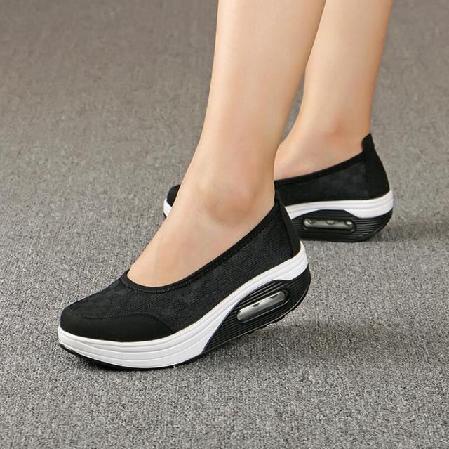 19c7e98ca Mulheres sapatos de couro genuíno apartamentos sapatos femininos grossas  casual comfort saltos baixos loafers planas sapatos