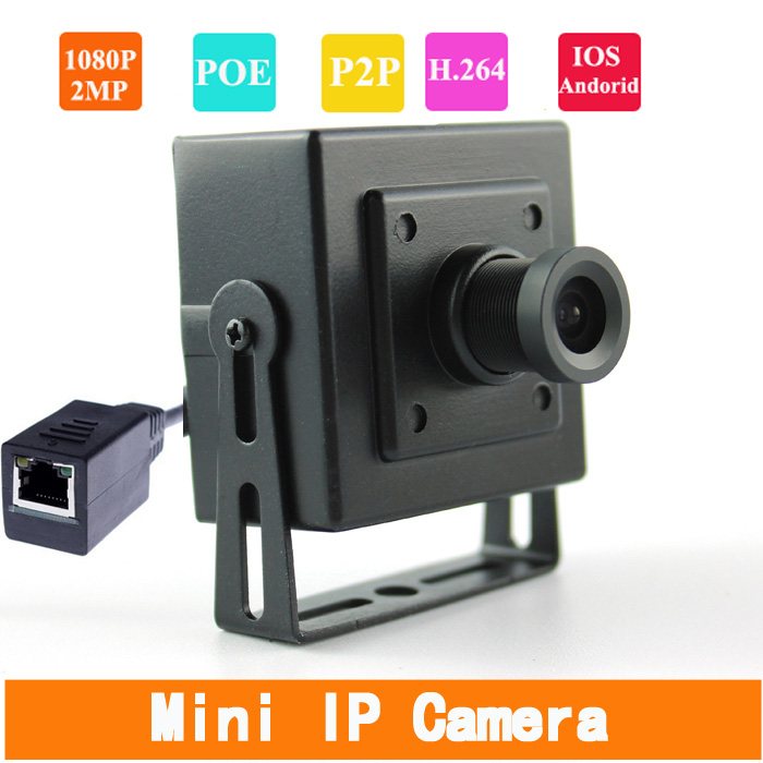 1920 * 1080P HD 2.0MP Mini POE IP Camera 2.8mm 1080P Lens Support P2P Smart Phone View perm splint titanium automatic ceramic hair curler 3 barrels big hair wave waver curling iron hair curlers rollers styling tools
