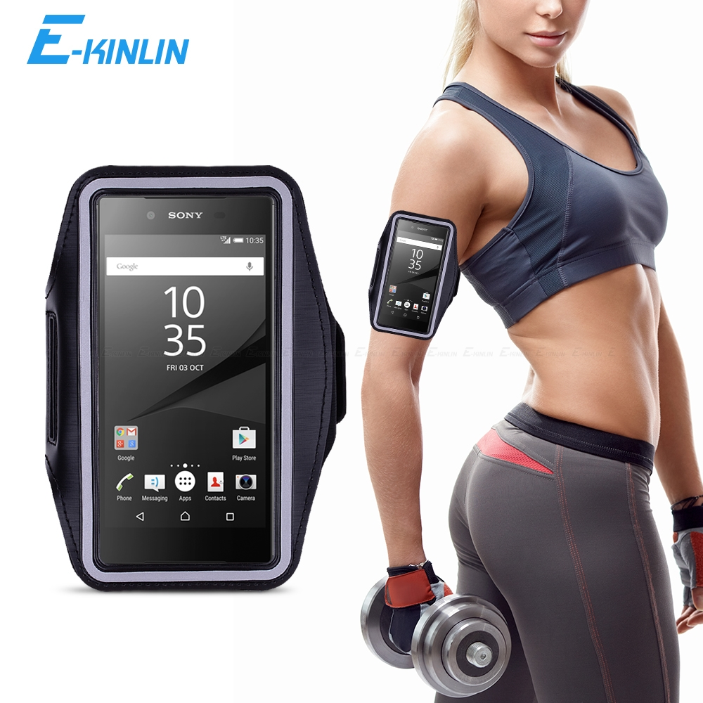 Quality Sports Armband Gym Running Workout Strap Phone Case✔Sony Xperia Z5