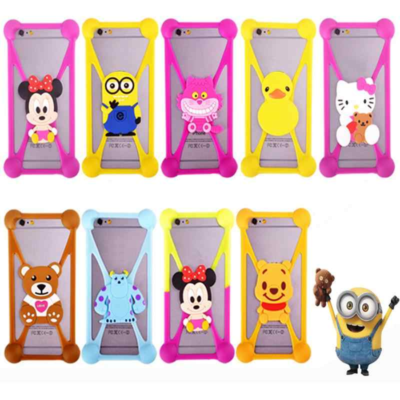 Cute Cartoon Silicone cover For Fly FS502 Cirrus 1 Case fs401 fs402 fs403 fs404 fs405 fs406 fs451 For Samsung/explay/umi/huawei