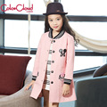 Big Girl Kids Jackets For Girls Coat Children Windbreaker Fashion Girls Mickey Mouse Clothing Casual Pink Outerwear Jacket GH087