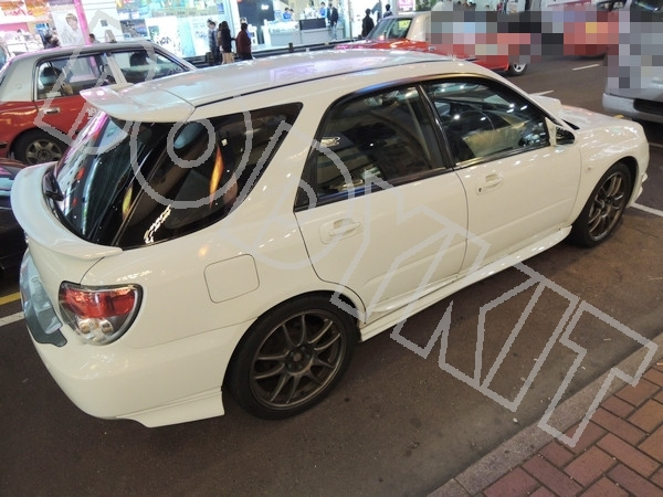 Wrx Sti Rear Wing Hatch Roof Spoiler