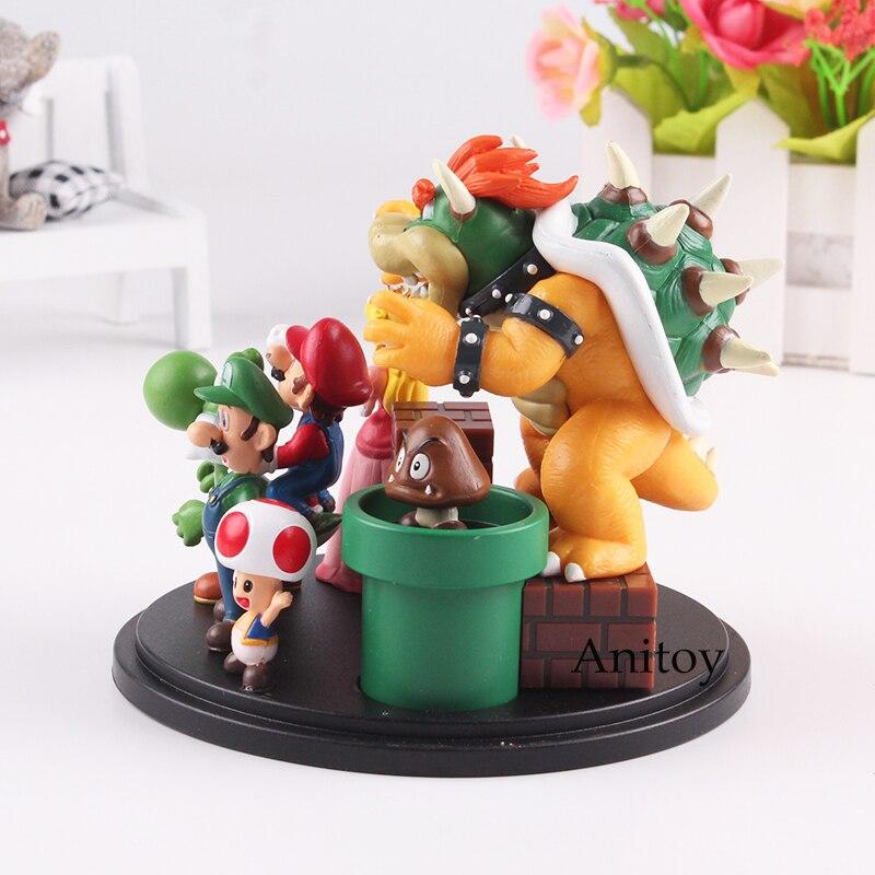de ação festa decoração brinquedo presente 3-10cm