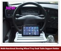 Universele Auto multifunctionele Stuurwiel Lade Bureau Tafel Ondersteuning Houder voor Tablet PC Laptop Cup Drink Voedsel Boeken