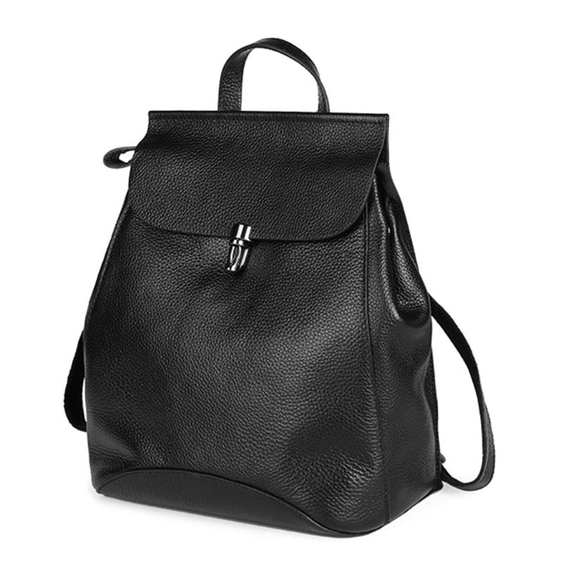 Fashion Genuine Leather Backpack Quality Genuine Leather Women Backpack High Quality School Genuine Leather Backpack