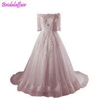 Formal Luxury Women's Dress paolo sebastian pink wedding dress bridal dresses 2018 muslim wedding dress vestido de novia