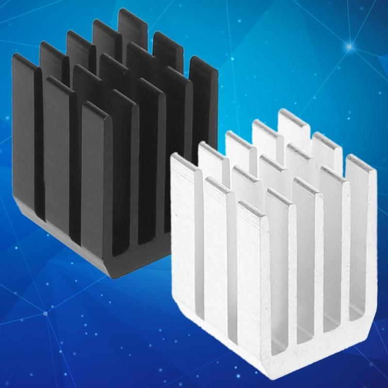 5Pcs/Set 9*9*12mm Aluminum Cooling Heat Sink Chip RAM Radiator Heatsink Cooler HUDD_2 szytf 5pcs to 247 heatsink audio heatsink transistor heat sink block 38 34 12mm