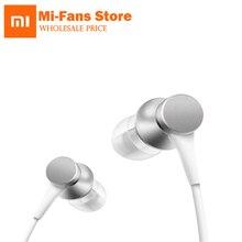 D'origine Xiaomi Piston Écouteurs Jeunes Version In-Ear 3.5mm Écouteur Coloré 1.4 M de Long Écouteurs Deux Paires de Bouchons D'oreilles avec Mic