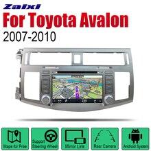 ZaiXi Android 2 Din Auto Radio DVD For Toyota Avalon 2007~2010 Car Multimedia Player GPS Navigation System Radio Stereo liislee for toyota caldina t240 2002 2007 radio cd dvd player