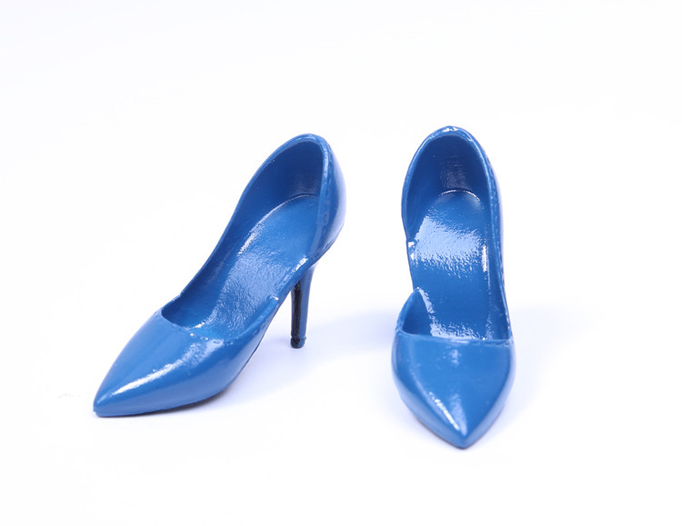Image 5 - 1/6 Scale Female Shoes Soft High heel Shoes For Phicen JIAOU Doll Action Figures AccessoriesAction & Toy Figures   -